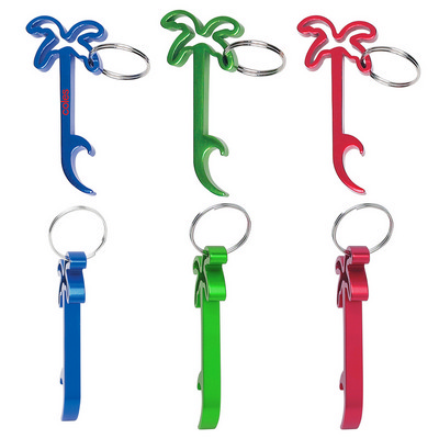 Palm Tree Bottle Opener Key Ring - (printed with 1 colour(s)) PH2061_PS