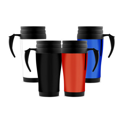 350ml Plastic Travel Mug - (printed with 1 colour(s)) PS2101_PS
