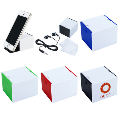 3-In-1 Desk Cube - (printed with 1 colour(s)) PH2714_PS