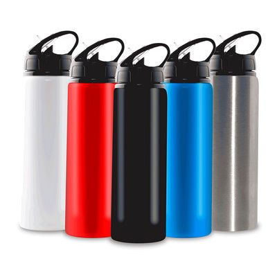 750ml Aluminium Water Bottle with Straw - (printed with 1 colour(s)) PS2006_PS