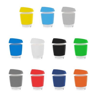 Glass Moama Coffee Cup - (printed with 1 colour(s)) PS2223_PS