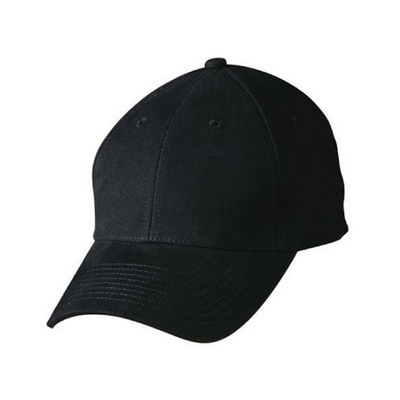 Heavy Brushed Cotton Structured Cap with Buckle on Back Closure (CH35_WIN)
