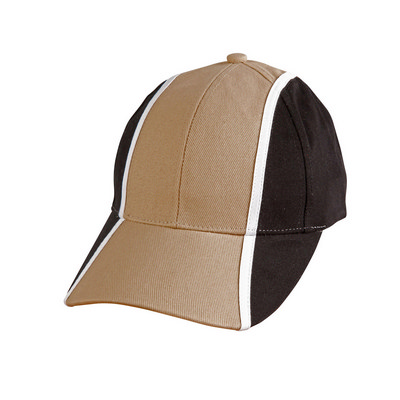 Heavy Brushed Cotton Tri-colour Baseball Cap (CH83_WIN)