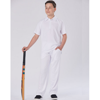 Kids CoolDry Polyester Cricket Pants (CP29K_WIN)