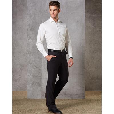 Mens Wool Blend Stretch Pants (M9300_WIN)