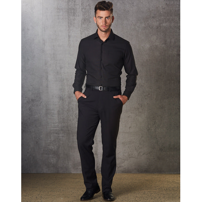 Mens PolyViscose Stretch Pants (M9340_WIN)