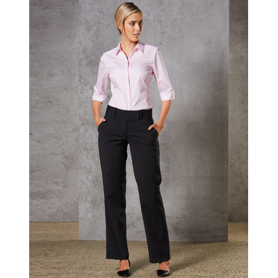 Ladies Wool Stretch Low Rise Pants (M9410_WIN)