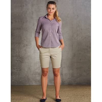 Ladies Chino Shorts (M9461_WIN)