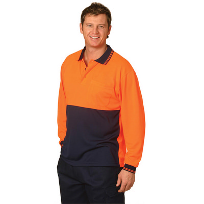 CoolDry Micro-mesh Safety Polo (SW05CD_WIN)