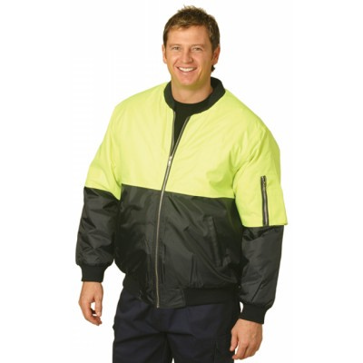 High Visibility Two Tone Flying Jacket (SW06_WIN)