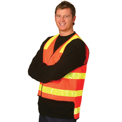 VIC Road Style Safety Vest - (SW10A_WIN)