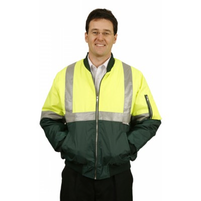 High Visibility Two Tone Flying Jacket with 3M Reflective Tapes (SW16_WIN)