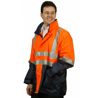 Hi-Vis Three in One Safety Jacket with 3M Tapes  (SW20_WIN)