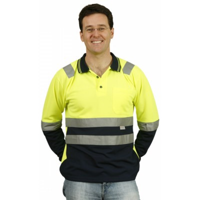 Mens TrueDry Safety Polo With 3M Reflective Tape (SW21_WIN)