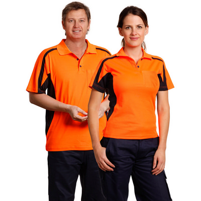Mens TrueDry Short Sleeve Safety Polo (SW25_WIN)