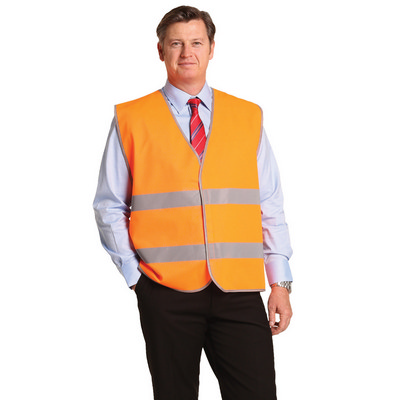 Hi-Vis Safety Vest With Reflective Tapes - (SW44_WIN)
