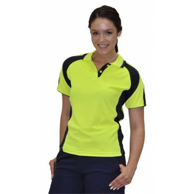 Ladies CoolDry Safety Polo with Underarms Mesh (SW62_WIN)