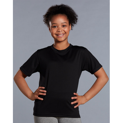 (Kids Unisex) CoolDry Short Sleeve Tee (TS23K_WIN)