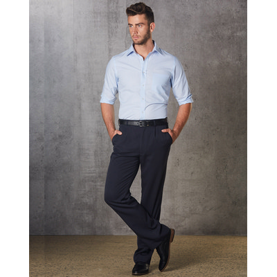 Mens Permanent Press Pants Stout Size (WP01S_WIN)