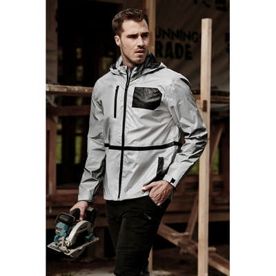 Unisex Streetworx Reflective Waterproof Jacket (ZJ380_SYNZ)