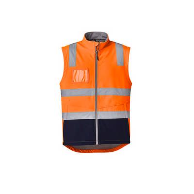 Unisex Hi Vis Softshell Vest