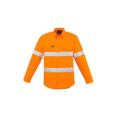 Mens Hi Vis Hoop Taped Shirt (ZW640_SYNZ)