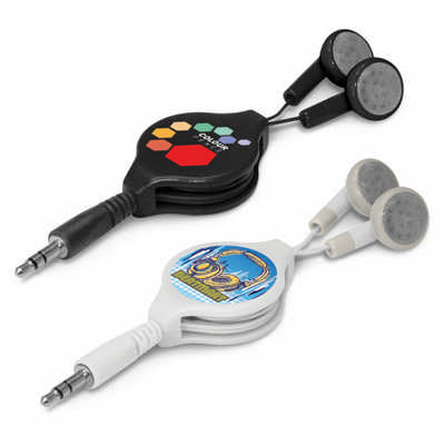 Retractable Earbuds - (Includes Decoration) 106936_TNZ