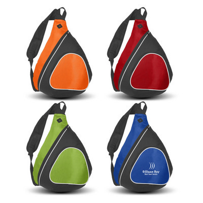Padded Sling Backpack - (Includes Decoration) 111421_TNZ