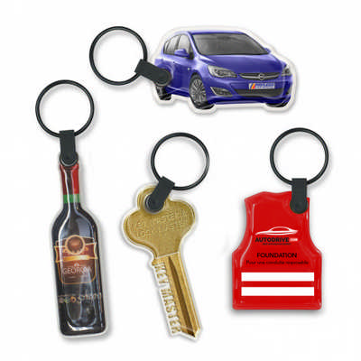 Star Flex Key Ring - (printed with 4 colour(s)) 106850_TRDZ