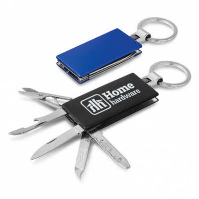 Multi-function Metal Key Ring - (printed with 1 colour(s)) 107108_TRDZ