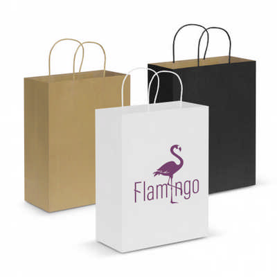 Paper Carry Bag - Large - (printed with 1 colour(s))