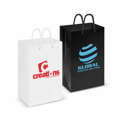 Laminated Carry Bag - Small - (printed with 1 colour(s))