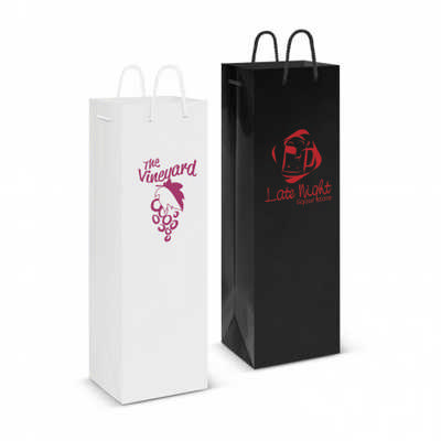 Laminated Wine Bag - (printed with 1 colour(s))