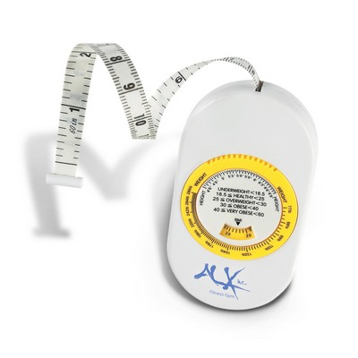 BMI Scale Body Tape Measure - (printed with 1 colour(s)) 109421_TRDZ