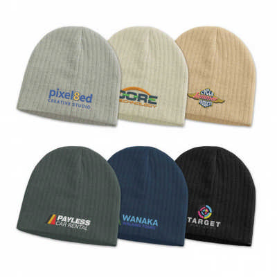 Nebraska Cable Knit Beanie - (printed with 4 colour(s)) 110834_TRDZ
