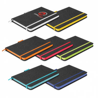 Meridian Notebook - Two Tone - Includes Decoration 112397_TRDZ