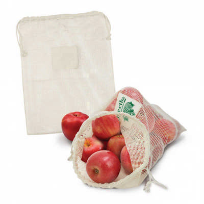 Cotton Produce Bag - (printed with 1 colour(s)) 113360_TRDZ