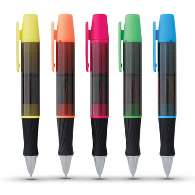 3-In-1 Executive Assistant Highlighter Pen - (printed with 1 colour(s)) 113521_TRDZ