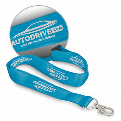 Soft Touch Logo Lanyard - (printed with 1 colour(s)) 116611_TRDZ
