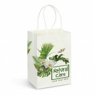 Small Paper Carry Bag - Full Colour - (printed with 4 colour(s))