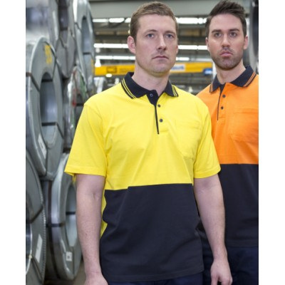 JBs Hi Vis S/S Cotton Polo (6CPHV_JBS)