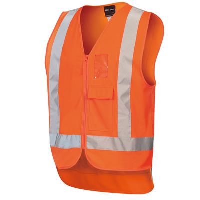 JBs Hi Vis Zip (D+N) Ttmc-W Vest (6DNDT_JBS)