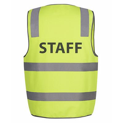 JBs Hi Vis D+N Safety Vest Staff (6DNS6_JBS)