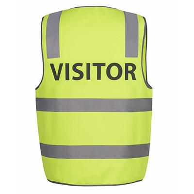 JBs Hi Vis D+N Safety Vest Visitor (6DNS7_JBS)