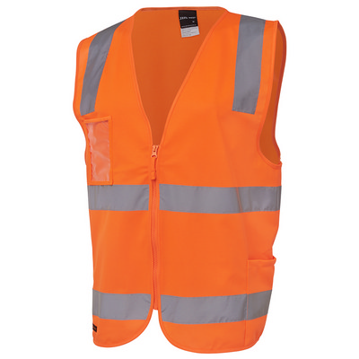 JBs Hi Vis (D+N) Zip Safety Vest (6DNSZ_JBS)