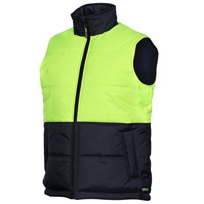 JBs Hi Vis Puffer Vest - (6HRPV_JBS)
