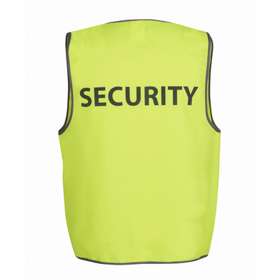 JBs Hi Vis Safety Vest Security (6HVS5_JBS)