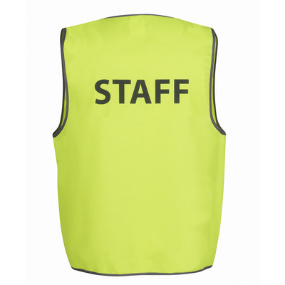 JBs Hi Vis Safety Vest Staff (6HVS6_JBS)