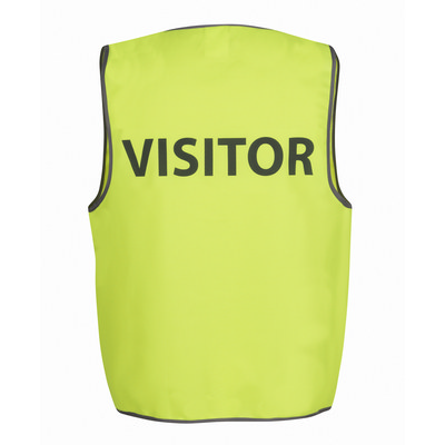 JBs Hi Vis Safety Vest Visitor (6HVS7_JBS)