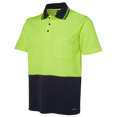 JBs Hv Non Cuff S/S Cotton Back Polo (6NCCS_JBS)